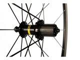 Mavic aksium wielset compleet met banden 25 mm_