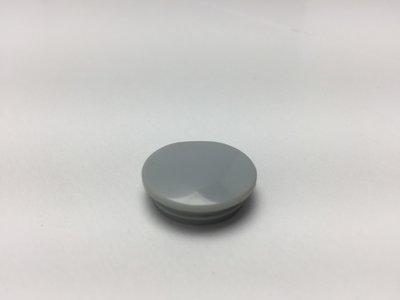 crankdop inslag grijs