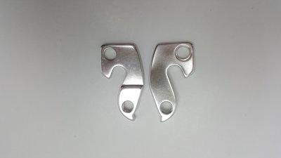 derailleurpad 023 aluminium universeel