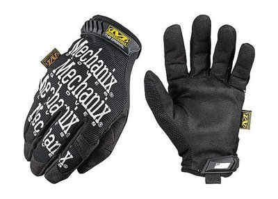 handschoen mechanix zwart xl