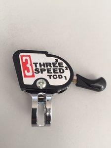 Stuurversteller voor 3 speed naaf