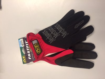 Mechanix handschoen fastfit rood medium